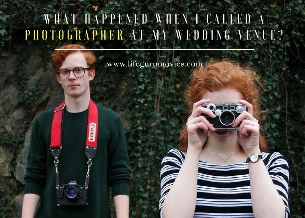 What happened when I called a photographer at my wedding venue?